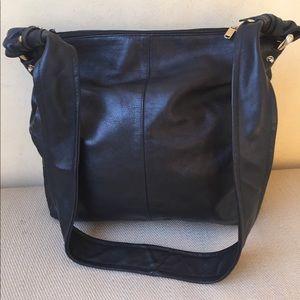Vera Pelle Italy bag leather purse cross body nice